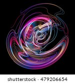 moving colorful lines of... | Shutterstock .eps vector #479206654