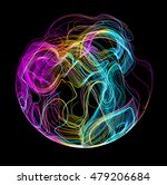 moving colorful lines of... | Shutterstock .eps vector #479206684