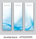 abstract header vertical blue... | Shutterstock .eps vector #479249395