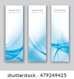 abstract header vertical blue... | Shutterstock .eps vector #479249425
