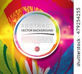 abstract vector background....   Shutterstock .eps vector #479254255