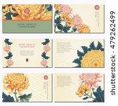 set of six horizontal business... | Shutterstock .eps vector #479262499