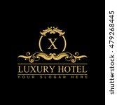 luxury logo template in vector
