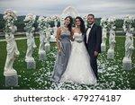 The Brides With Bridesmaid...