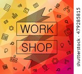 banner invitation for hackathon ... | Shutterstock .eps vector #479285815