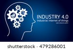 industry4.0 cyber physical... | Shutterstock .eps vector #479286001