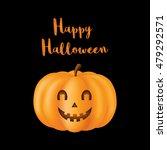 the object for design halloween.... | Shutterstock .eps vector #479292571