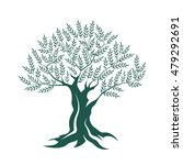olive tree silhouette icon... | Shutterstock .eps vector #479292691