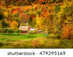 Small Red Barn With A Gorgeous...