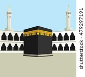 performing hajj or umrah... | Shutterstock .eps vector #479297191