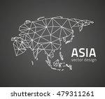 asia black perspective vector... | Shutterstock .eps vector #479311261