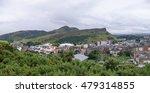 arthur's seat is the main peak... | Shutterstock . vector #479314855