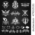car service labels  emblems and ... | Shutterstock .eps vector #479315131