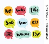 various vector labels in like... | Shutterstock .eps vector #479315671