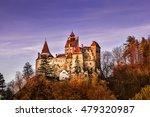 sunset light over medieval... | Shutterstock . vector #479320987