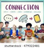 social media networking online... | Shutterstock . vector #479322481