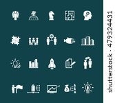 business training icon set | Shutterstock .eps vector #479324431