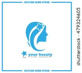 woman icon vector | Shutterstock .eps vector #479324605