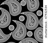 paisley pattern | Shutterstock .eps vector #47932534