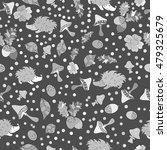 vector forest design  floral... | Shutterstock .eps vector #479325679