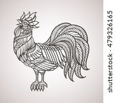 abstract cock hand draw | Shutterstock .eps vector #479326165