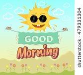 Good Morning.funny Sun Two...
