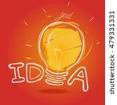 good idea.handdrawning image... | Shutterstock .eps vector #479331331