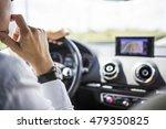 a business man driving a car.... | Shutterstock . vector #479350825