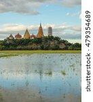 landscape of wat tham sua thai... | Shutterstock . vector #479354689