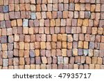stacked pile of building bricks ... | Shutterstock . vector #47935717
