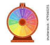 modern lucky wheel template....   Shutterstock .eps vector #479360251