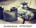 old photo film roll and retro... | Shutterstock . vector #479370637