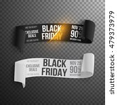 illustration of realistic black ... | Shutterstock .eps vector #479373979