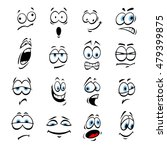 cartoon eyes with face... | Shutterstock .eps vector #479399875
