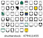 us state route markers vector...