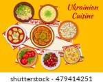 ukrainian cuisine dishes icon... | Shutterstock .eps vector #479414251