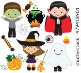 halloween  vector illustration | Shutterstock .eps vector #479418901