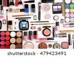 decorative cosmetics  top view | Shutterstock . vector #479423491