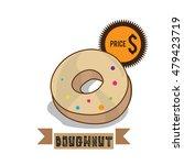 food dough nut   Shutterstock .eps vector #479423719