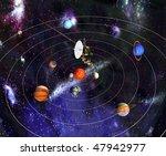 cosmic station | Shutterstock . vector #47942977