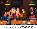 a vector illustration of young... | Shutterstock .eps vector #479430835