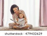 happy loving family. pretty... | Shutterstock . vector #479432629