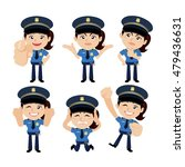people set   profession  ... | Shutterstock .eps vector #479436631