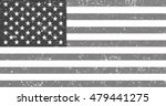 grunge usa old american flag... | Shutterstock .eps vector #479441275