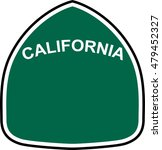 California State Route Marker...