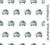 car vector seamless pattern | Shutterstock .eps vector #479468431