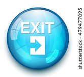 exit icon   Shutterstock .eps vector #479477095