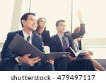 business people sitting in... | Shutterstock . vector #479497117
