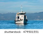 Ferry Boat During Navigation I...