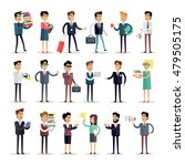 set of business people... | Shutterstock .eps vector #479505175